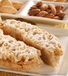 Vegan Almond Biscotti from the cookbook Very Vegan Christmas Cookies