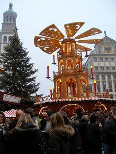 augsburg, germany christmasmarkt