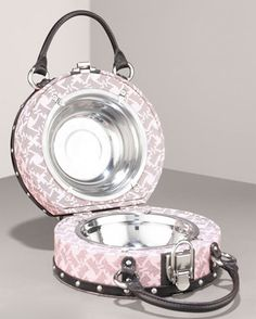 Juicy Couture dog bowl travel set!
