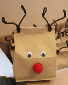 Rudolph Gift Bags