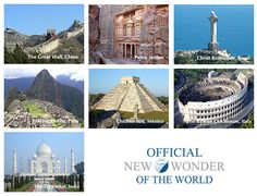 Seven Wonders of the World - Been to Coliseum in Rome