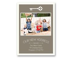 Moving announcement Change of Address New Home by FourHarpDesigns, $18.00