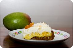 Mango Coconut Cream Pie via Cupcake Crazy Gem