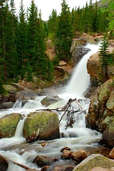 Alberta Falls, RMNP, Colorado