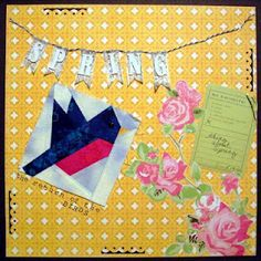 Counterfeit Kit Challenge: Master Forger Fabric Challenge. Page by Guest Designer Leslie