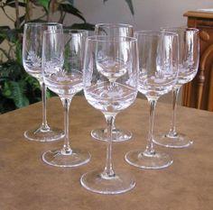 Bleikristall-Etched Crystal Stemware Wine Glass Goblets