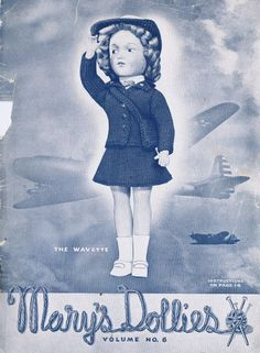 Mary's Dollies, 1940s - doll knitting patterns