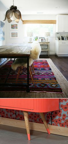 Love the top rug!!