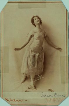 "Isadora Duncan 1899.  ""dance like the sea"". Marvelous."