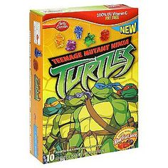 Betty Crocker -Teenage Mutant Ninja Turtles Fruit Snacks, Assorted Fruit Flavors, 10 - 0.9 oz (25.5 g) pouches [9 oz (255 g)]