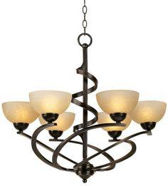 oil rub, franklin iron, irons, ribbon chandeli, bronz ribbon