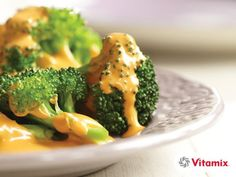 """Vitamix Vegan """"Not So Cheese"""" SauceLooking for sauces for vegetables? This Vitamix Vegan Cheese Sauce is quick and delicious! GREAT for kids!"""