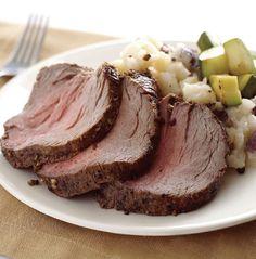 Peppered Beef Tenderloin Recipe - The Overnight Diet - The Overnight Diet by Caroline Apovian, M.D.