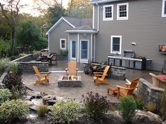 idea, fireplac design, outdoor fire pits, fireplace design, diy outdoor, outdoor room, backyard, outdoor fireplaces, firepit