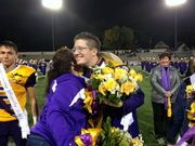 Yay! Lakewood High School this year named three members of homecoming royalty instead of the traditional king and queen Friday night after a boy decided to run as homecoming queen and won.