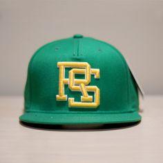 "Rhymesayers ""Crest"" Green Snapback Hat - Want."