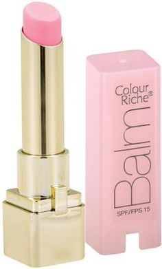 A touch of pink. L'Oreal Colour Riche Lip Balm    I am loving these balms!!!! smooth and smells deli