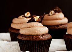 Almond Bark Cupcakes