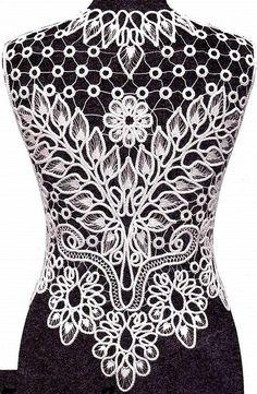 Romanian Point Lace design