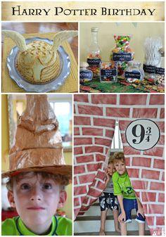 harry party birthday ideas