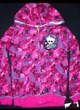 MONSTER HIGH Girls Hoodie Jacket NEW Size 10/12 Girls