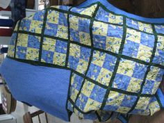 Blue/yellow Quilt