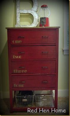 Red Hen Home Handbuilt Bedroom Dresser 5