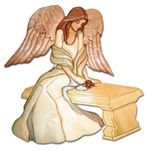 Remembering Rose Angel Intarsia Project Pattern