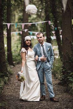 bohemian budget wedding