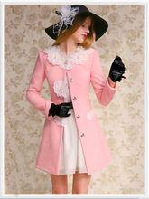 Pink Floral Long Sleeve Button Down Designer Jacket Coat - Morpheus Boutique