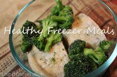 Healthy Freezer Meals