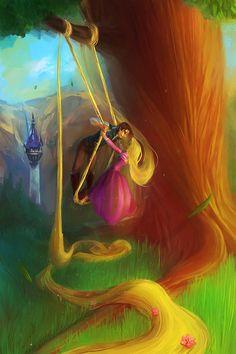 Princesas Disney: Rapunzel