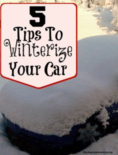 5 Tips to Winterize Your Car
