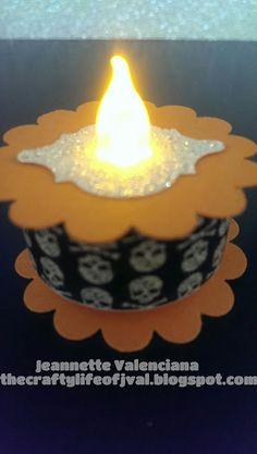 The Crafty Life of JVal tea light