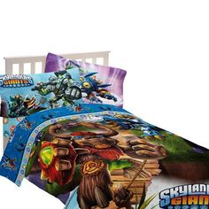 Skylanders Bedding Full Size - Skylanders fans would love this! Available in Twin and Full size sets.