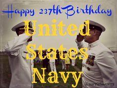 Happy Birthday United States Navy via @navywivesunite