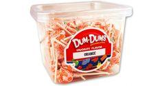 Dum Dum Pops - Orange
