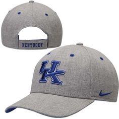 Kentucky Wildcats Nike Fly Logo Legacy91 Adjustable Hat – Gray