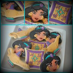 Disney Aladdin Jasmine cookies *Ü*