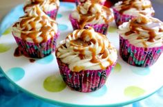 Apples and Carmel Cupcakes by What Jew Wanna Eat