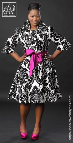 Tawni Haynes Trench Dress with additional belts in the color of your choice! Order @ http://shop.tawnihaynes.com or call 972-754-5096.