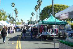 Farmers Market. Oceanside CA