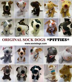Sock Dog Pit Bulls !!!