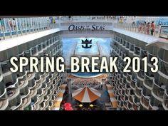 Oasis of the Seas - Spring Break 2013