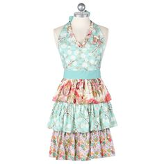aprons.  Really girly, frilly ones. (;