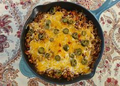 Skillet Chili and Rice {One Pot} | Plain Chicken