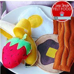 Sew Simple Felt Food: Time for Breakfast!