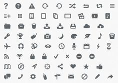 using pictogram webfonts for replacing images