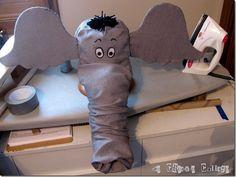 Horton the Elephant Hat tutorial