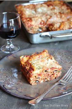The Italian Dish - Posts - Lasagna alla Norma (EggplantLasagna)